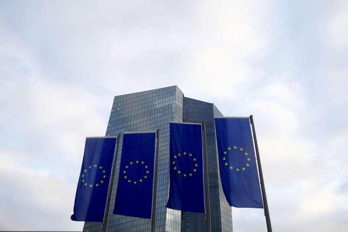 Le siège de la Banque centrale européenne, à Francfort.