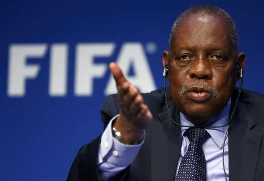 Le président intérimaire de la FIFA, Issa Hayatou, le 3 décembre.