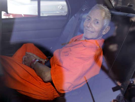 Robert Durst, ici le 17 mars 2015, est suspecté de deux meurtres. Il a été acquitté pour un troisième, celui de son voisin, pour lequel il a plaidé la légitime défense.