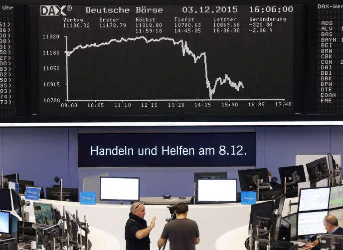 Les opérateurs suivront la publication de l'indice ZEW qui mesure le sentiment économique des investisseurs allemands.
