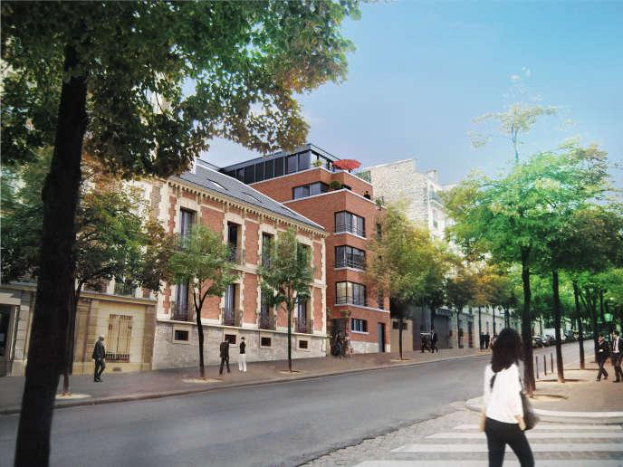Le projet de réhabilitation d'un hôtel particulier de 1885 et d'édification d'une résidence de standing, avenue Reille, à Paris (XIVe).