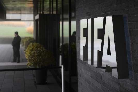Le siège de la FIFA, à Zurich, jeudi 3 décembre.