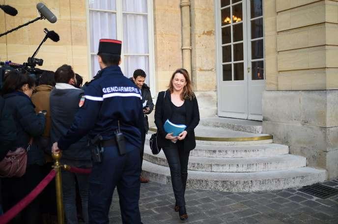 La secrétaire d'Etat au numérique, Axelle Lemaire, a présenté mercredi son projet de loi pour