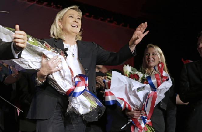 Le 27 novembre, lors d'un meeting à Nice.