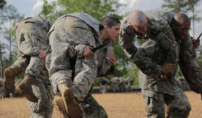 Des soldats américains en Géorgie, le 20 août 2015.