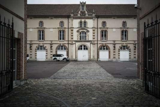 Avenue de Champagne, à Epernay (Marne). La maison Boizel.