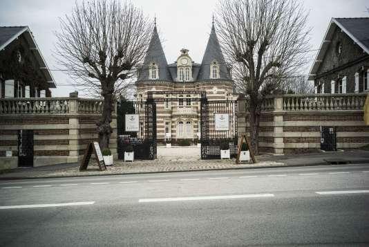 Le Château Comtesse Lafond, à Epernay (Marne).
