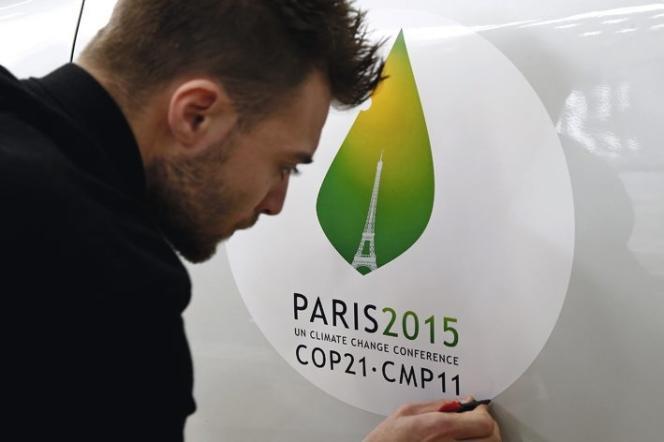 Le logo de la COP 21.