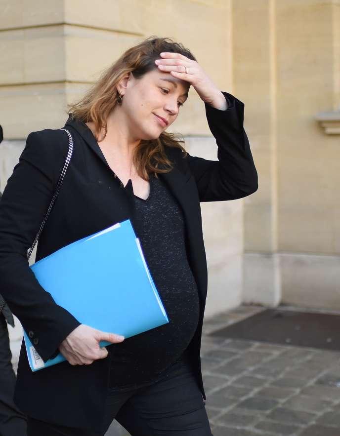Axelle Lemaire, secrétaire d'Etat au numérique, à Matignon le 3 décembre 2015.
