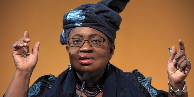 L'ancienne ministre des finances du Nigeria, Ngozi Okonjo-Iweala.