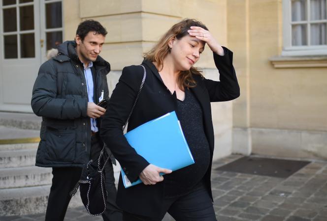 La secrétaire d'Etat au numérique, Axelle Lemaire, qui a défendu à l'Assemblée le projet de loi pour une République numérique.