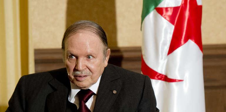 Abdelaziz Bouteflika à Alger, le 15 juin 2015.