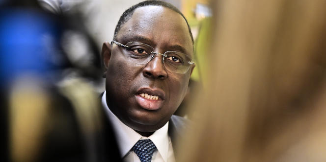 Le président sénégalais Macky Sall à Paris le 1er décembre 2015.