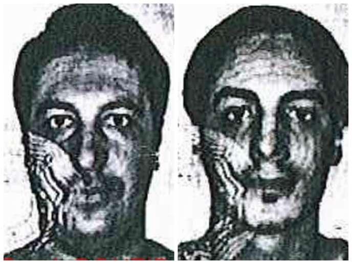 La police fédérale belge précise que ces deux hommes sont « dangereux et probablement armés » et déconseille « d'intervenir soi-même ».
