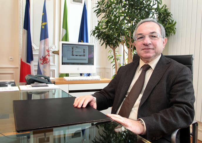 Claude Gewerc, président sortant du conseil régional de Picardie, ici en février 2010 à Amiens.