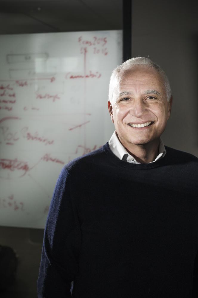 Pier Vincenzo Piazza dirige le neurocentre Francois-Magendie (université Bordeaux-II).
