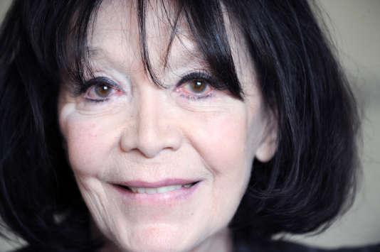Juliette Greco à Paris en 2009.