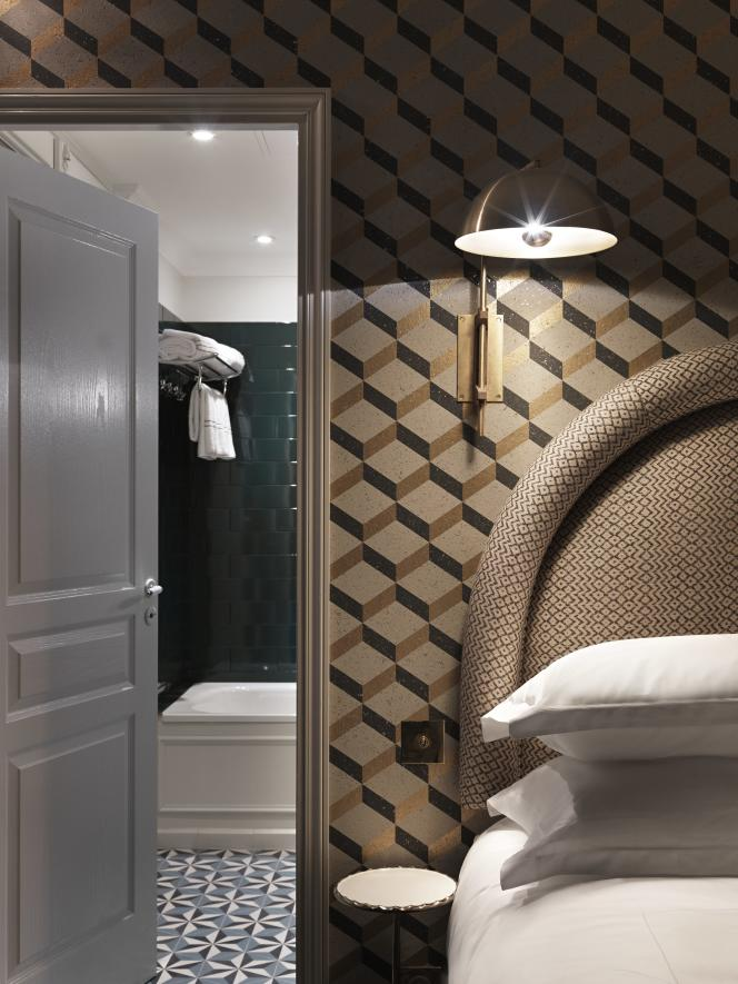 Grand Pigalle Hotel designed by Chzon Design, Pigalle, Paris, France. Photo Credit : Kristen Pelou.