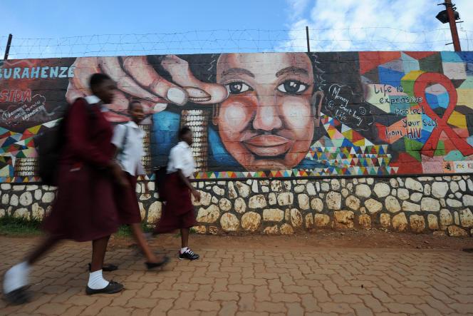 Des écolières à Kigali, en octobre 2015.