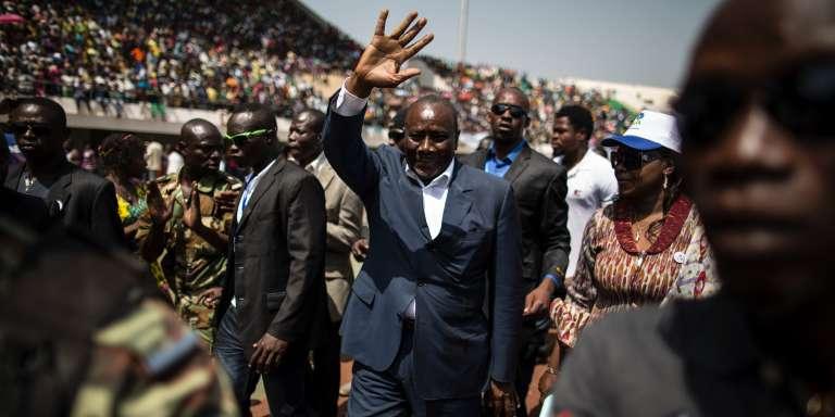 Karim Meckassoua, candidat à la présidentielle en Centrafrique.