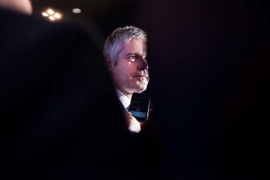 Laurent Wauquiez (Les Républicains), tête de liste de liste de l'union de la droite, est arrivé en tête en Auvergne-Rhône-Alpes.