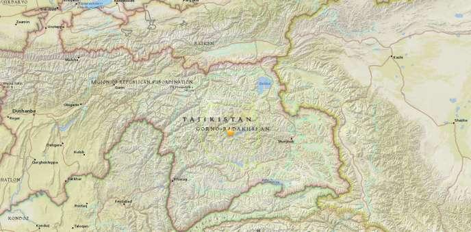 L'épicentre de la secousse a été localisé à 111 kilomètres au sud-ouest de Karakul, précise l'USGS.