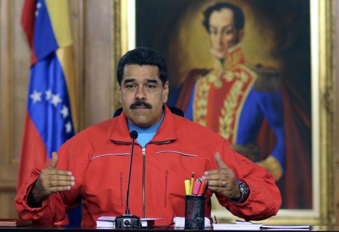 Le président vénézuélien, Nicolas Maduro.
