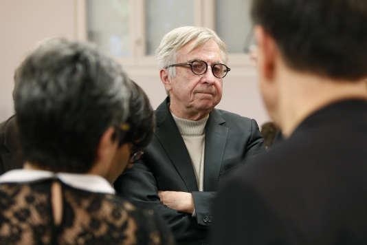 Le candidat socialiste Jean-Pierre Masseret – ici le 6décembre–, arrivé troisième en région Alsace-Champagne-Ardenne-Lorraine, a refusé de retirer sa liste, malgré les consignes des instances nationales.