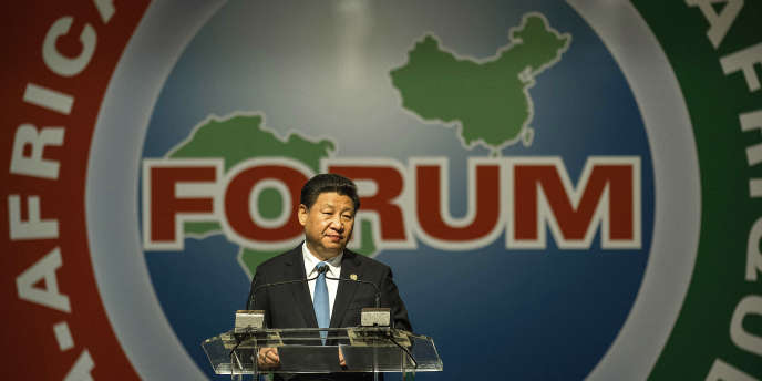 Le président chinois Xi Jinping lors du dernier sommet Chine-Afrique à Johannesburg, le 4 décembre 2015.