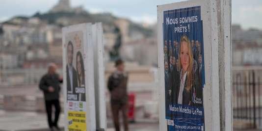 Le parti d'extrême droite se targue d'avoir convaincu beaucoup plus d'électeurs que lors des municipales. C'est faux. A Marseille 7e secteur, le FN a perdu plus de 1500 voix.
