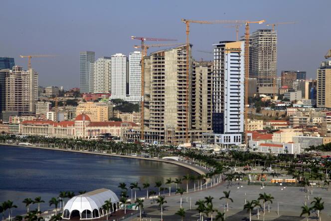 Luanda, capitale de l'Angola, en 2015.