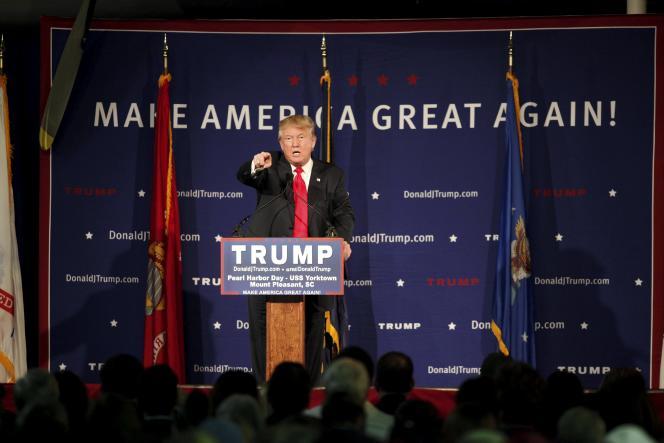 Donald Trump, le 7 décembre lors d'un meeting.