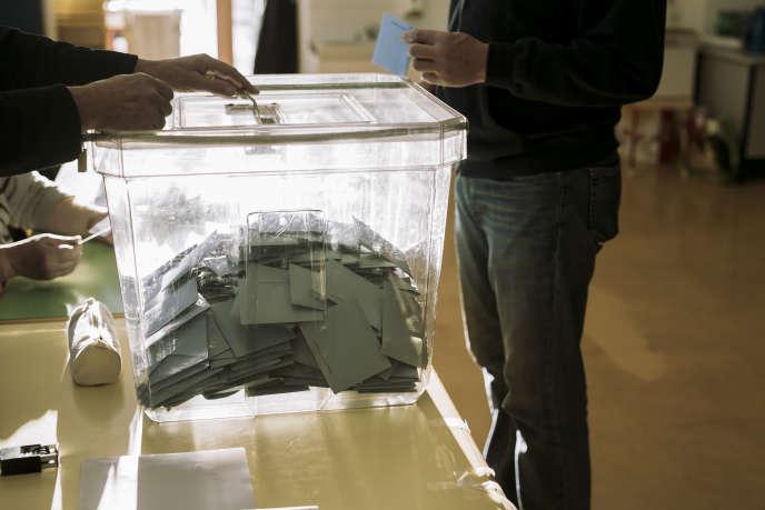 Le premier tour des élections Régionales dans la région Alsace-Lorraine le 6 décembre 2015.