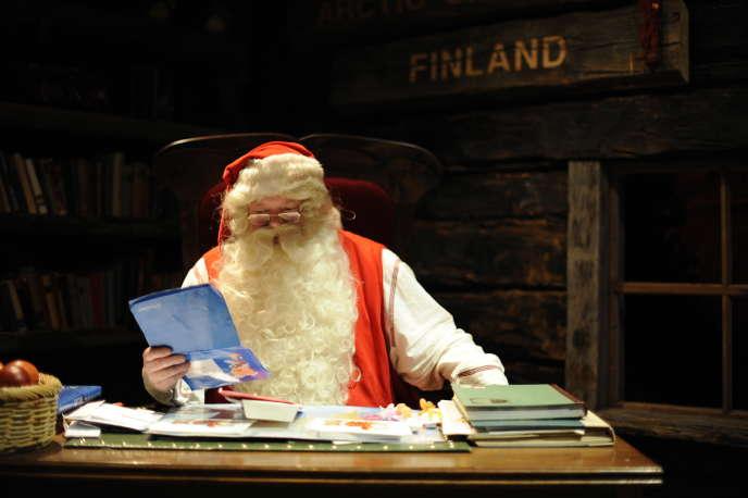 Village finlandais du Père Noël, à Rovaniemi.