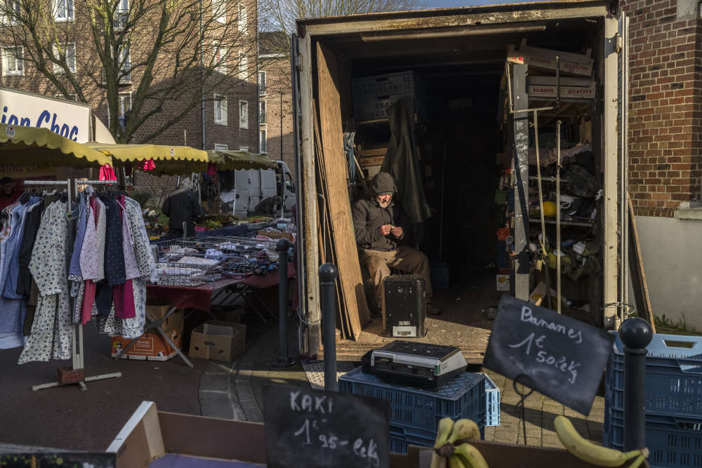 Un tiers des habitants de la ville vit du RSA, un autre est au chômage, selon les chiffres de l'Insee de 2013.