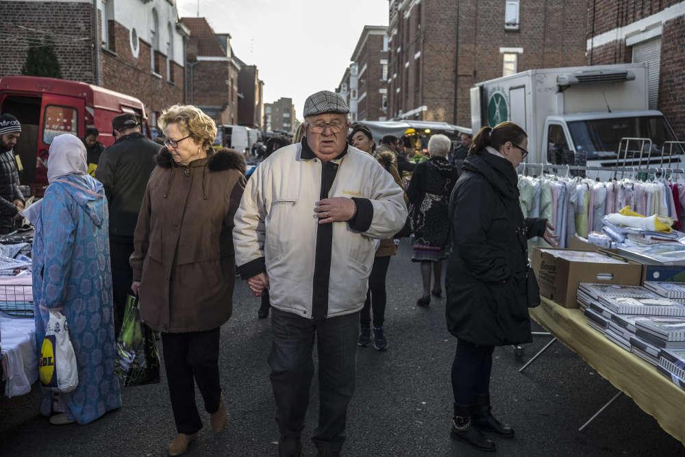Au marché du Nouveau Roubaix, le 7 décembre.