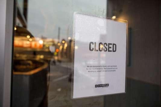 Un restaurant Chipotle fermé à Boston après l'intoxication d'étudiants.