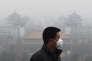 Scène de pollution ordinaire à Pékin., en décembre 2015.