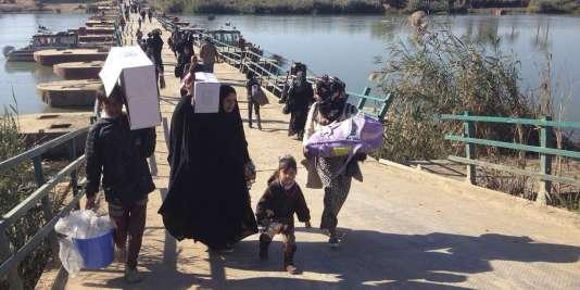 Environ 3,2 millions de personnes ont été déplacées à l'intérieur de l'Irak depuis janvier 2014, dont plus d'un million d'enfants.