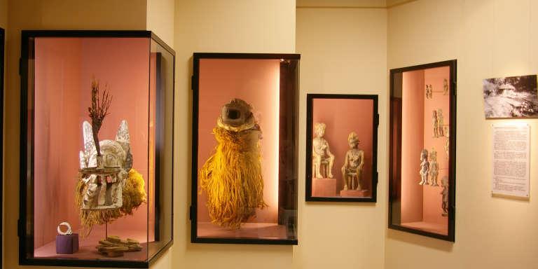 Une partie des collections du Musée africain de Lyon.