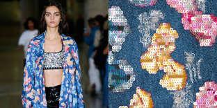 Pinar & Viola, studio de couture numérique, imprime sur les vêtements des images pixel après pixel.