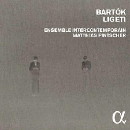 Pochette de l'album « Bartok-Ligeti », par l'Ensemble intercontemporain.