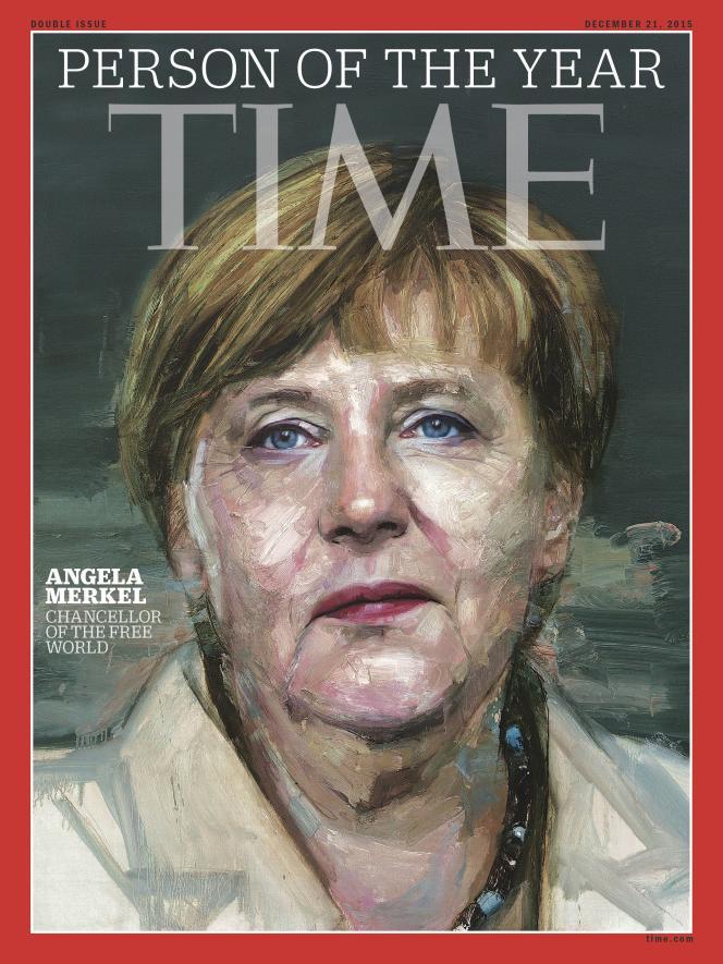 «Une» du «Times», décembre 2015.
