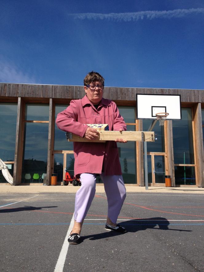 Liliane Lebreton, musicienne du foyer pour travailleurs handicapés de Mantes-la-Ville (Yvelines).