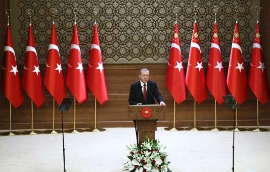 Recep Tayyip Erdogan a promis «d'éradiquer» le Parti des travailleurs du Kurdistan.
