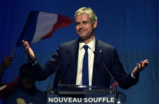 Laurent Wauquiez, le 9 décembre à Saint-Etienne.