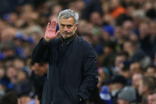 José Mourinho, le 9 décembre à Stamford Bridge, Londres.