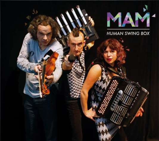 Pochette de l'album «Human Swing Box », de MAM.