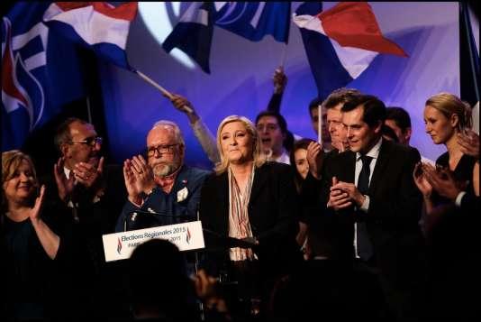 Hors de question pour Marine Le Pen d'aborder la possibilité d'une défaite, dimanche même si aucune étude d'opinion publiée au cours de la semaine n'a promis la victoire à un candidat d'extrême droite lors du second tour.