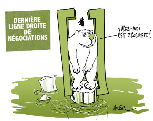 La COP21 vue par le dessinateur Aurel.